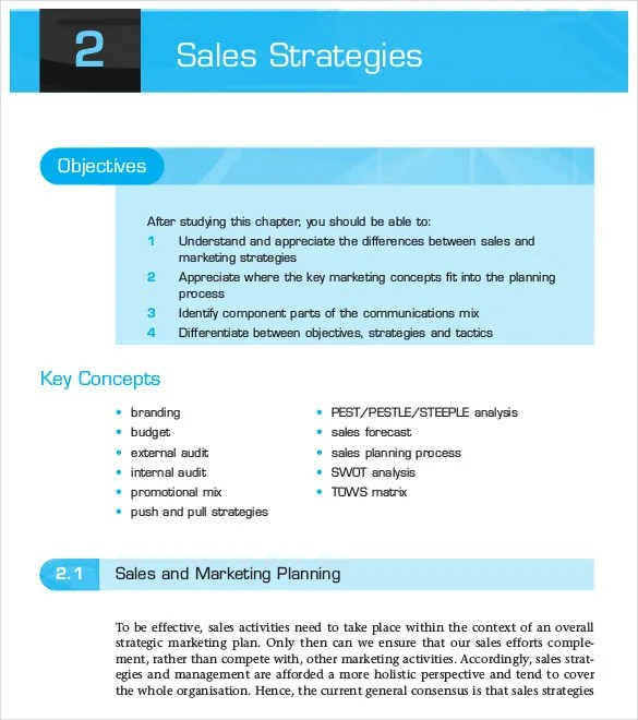 Sample Sales Analysis Wps Pearsoncustom Com This Particular - sample sales plan