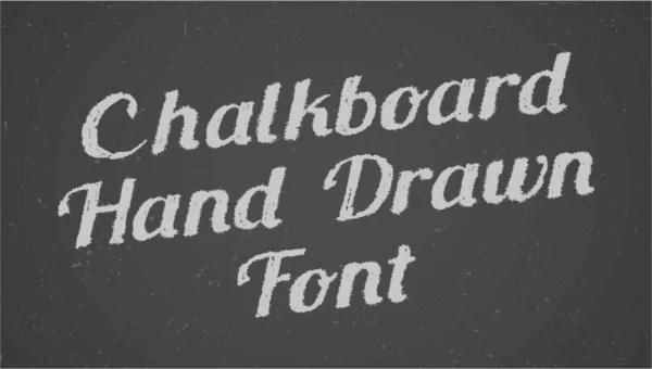 24+ Chalkboard Fonts - OTF, TTF Free  Premium Templates