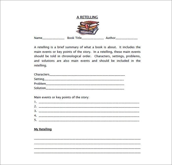 11+ Book Report Templates - PDF, DOC Free  Premium Templates - book summary template