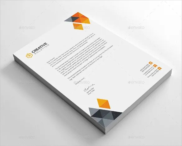 Business Letterhead Template \u2013 22+ Free PSD, EPS, AI, Illustrator - business letterheads
