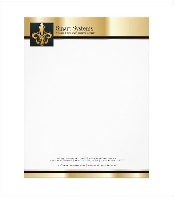 free company letterhead template download