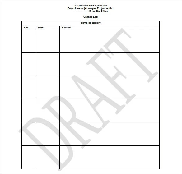 15+ Acquisition Strategy Templates \u2013 Free Sample, Example, Format