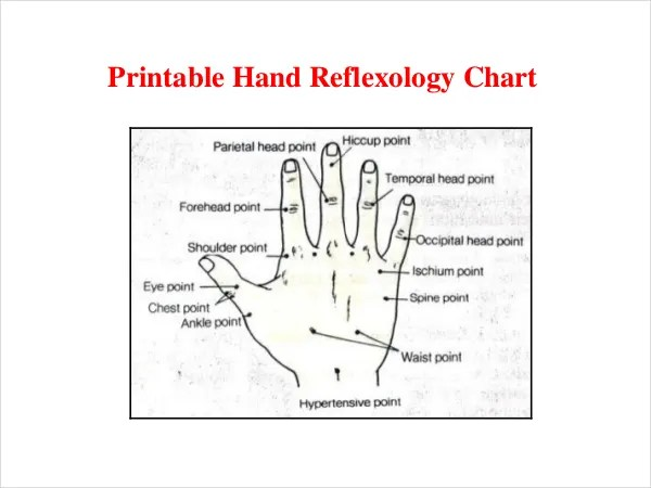Reflexology Chart Templates u2013 9+ Free PDF Documents Download - eye chart template