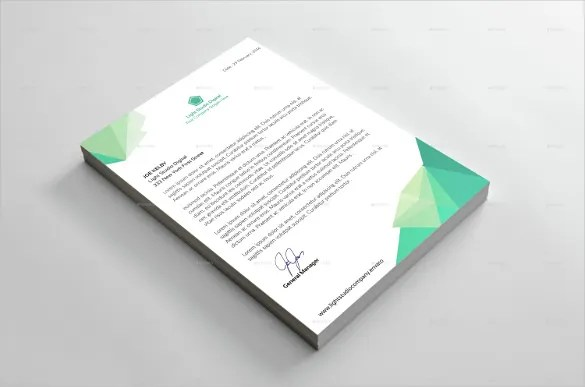 29+ Corporate Letterhead Templates - DOC, PSD Free  Premium Templates