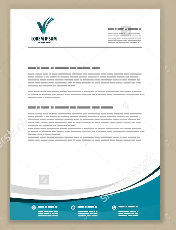 business letterhead templates - Ozilalmanoof - Free Business Letterhead Templates For Word