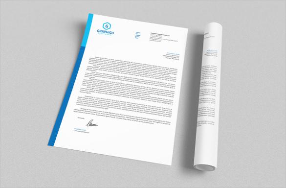 A Letterhead Template 45 Free Letterhead Templates Examples Company 25 Corporate Letterhead Templates 25 Free Psd Eps Ai