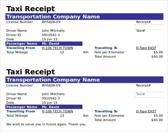 Receipt For Payment Template – Receipt for Payment Template Free