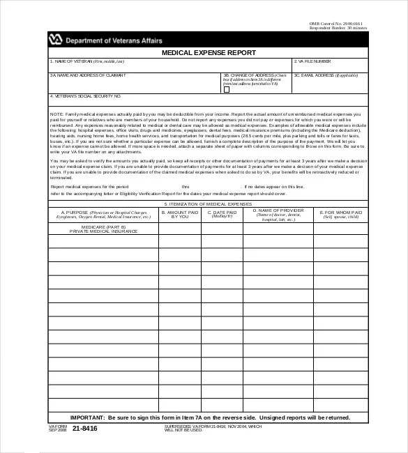8+ Expense Report Templates - Free Sample, Example, Format Download