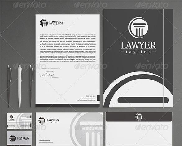 15+ Law Firm Letterhead Templates - Free PSD, EPS, AI, Illustrator