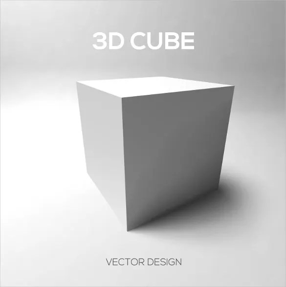 3D Cube Template - 17 + PSD, EPS Format Download Free  Premium
