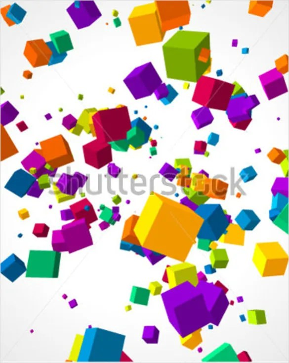 Cubes 3d Wallpaper 3d Cube Template 17 Psd Eps Format Download Free