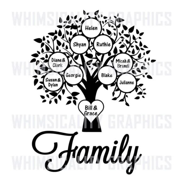 Blank Family Tree Template - 32+ Free Word, PDF Documents Download