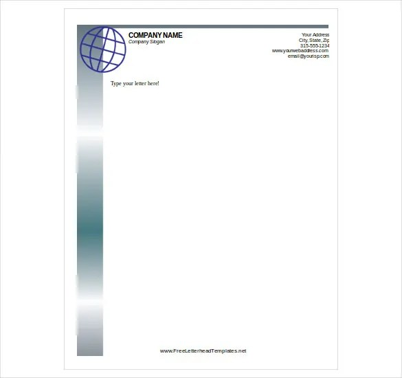 Free Letterhead Template \u2013 14+ Free Word, PDF Format Download Free - Free Letterhead Samples