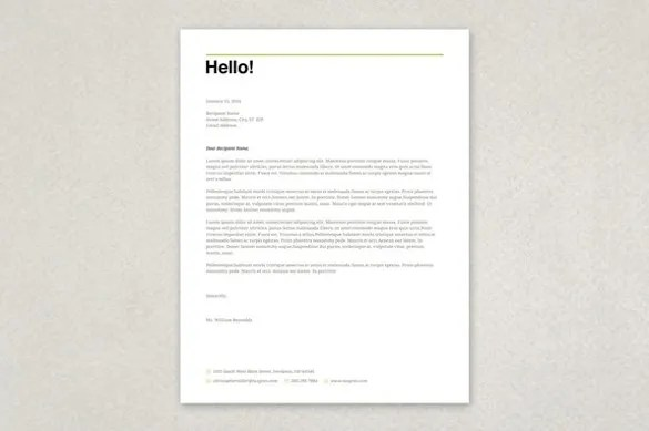 Free Letterhead Template - 22+ Free Word, PDF Format Download Free