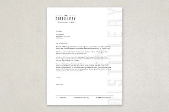 Free Letterhead Template - 22+ Free Word, PDF Format Download Free