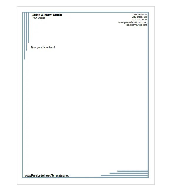 letterheads templates free download - Onwebioinnovate