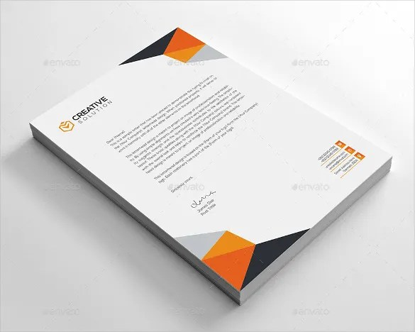 23+ Business Letterhead Templates - Free Word, PSD, AI Format