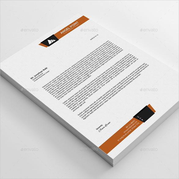 20+ Business Letterhead Templates \u2013 Free Sample, Example Format - business letterhead