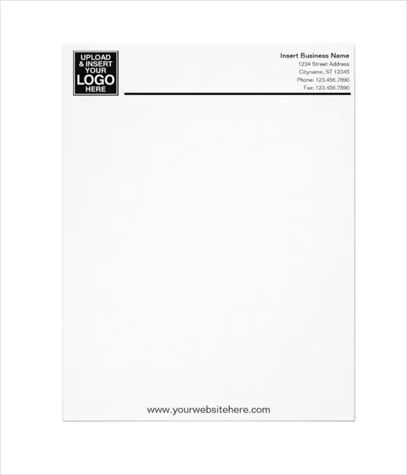 Business Letterhead Template Free Images - Business Cards Ideas - Free Letterhead Samples