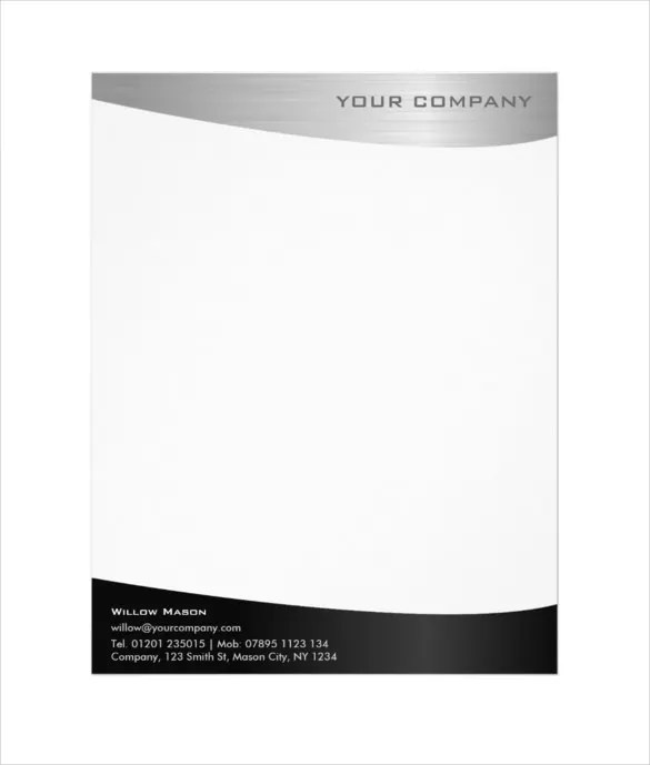 37+ Professional Letterhead Templates - Free Word, PSD, AI Format