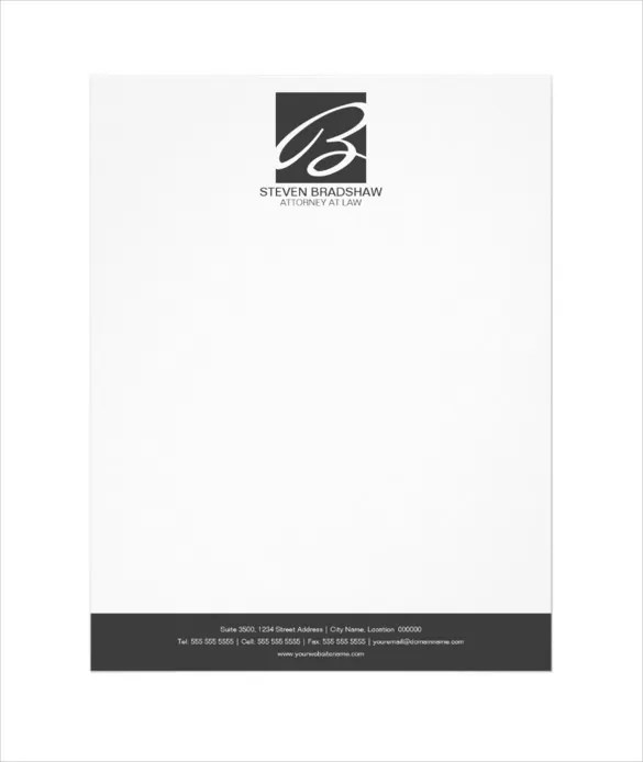32+ Professional Letterhead Templates - Free Sample, Example Format