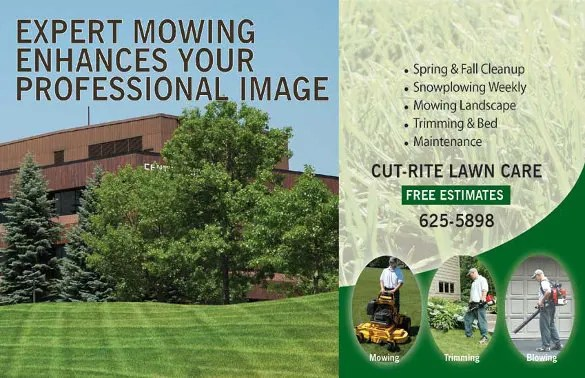Lawn Care Flyers \u2013 28+ Free PSD, AI, Vector EPS Format Download - free landscape flyer templates