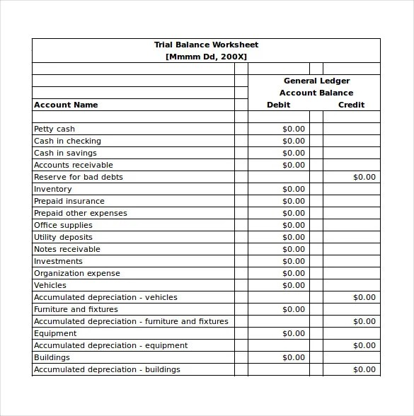 Balance Sheet Templates - 18+ Free Word, Excel, PDF Documents - Balance Sheet Classified Format