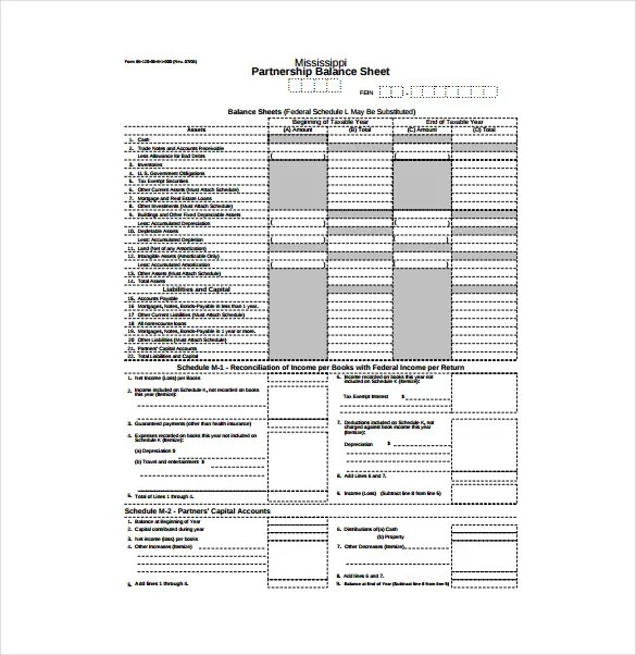 Balance Sheet Templates - 18+ Free Word, Excel, PDF Documents