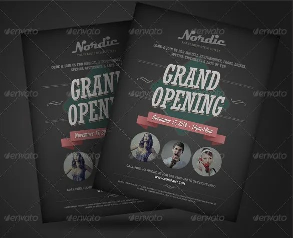 Announcement Flyers \u2013 21+ Free PSD, AI, Vector EPS Format Download - invitation flyer template