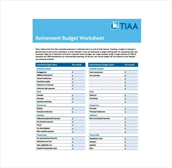 11+ Budget Sheet Templates \u2013 Free Sample, Example, Format Download - Sample Budget Sheet