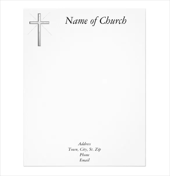 11+ Church Letterhead Templates - Free Word, PSD, AI Format Download