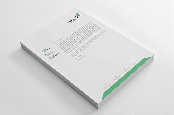 20+ Personal Letterhead Templates \u2013 Free Sample, Example Format