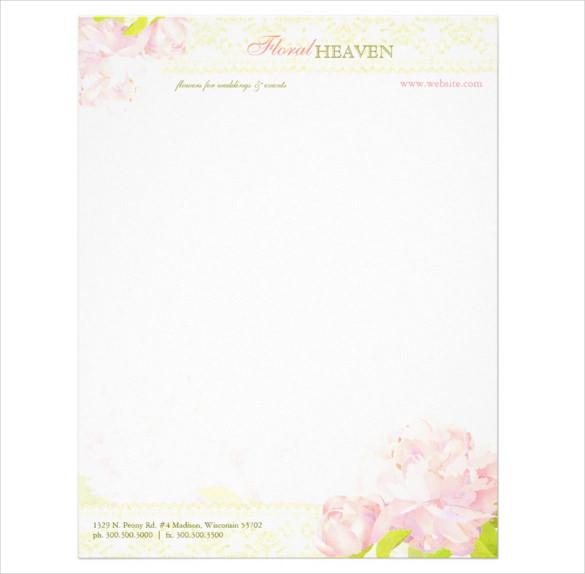20+ Personal Letterhead Templates u2013 Free Sample, Example Format - personal letterhead template