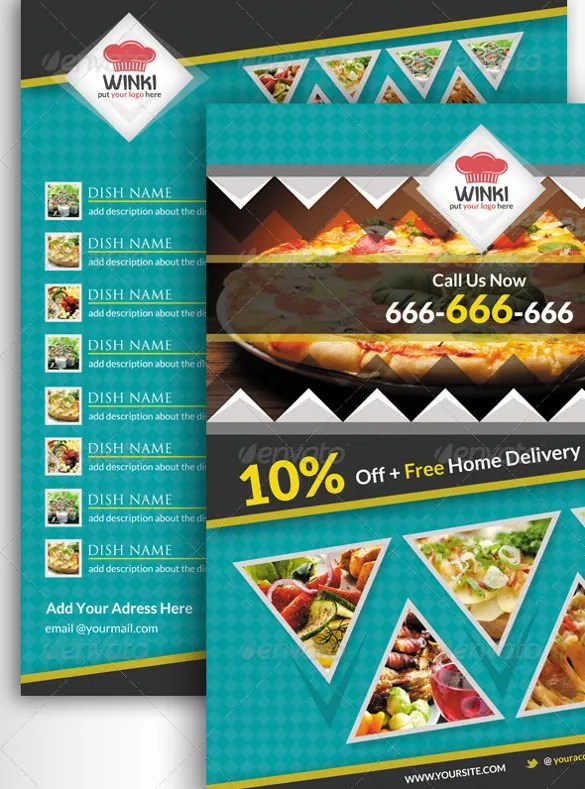 22+ Catering Flyers - PSD, AI, Vector EPS Free  Premium Templates
