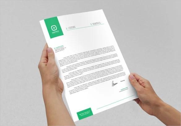 A Letterhead Template Free Letterhead Templates 23 Letterhead Design Templates – Free Sample Example