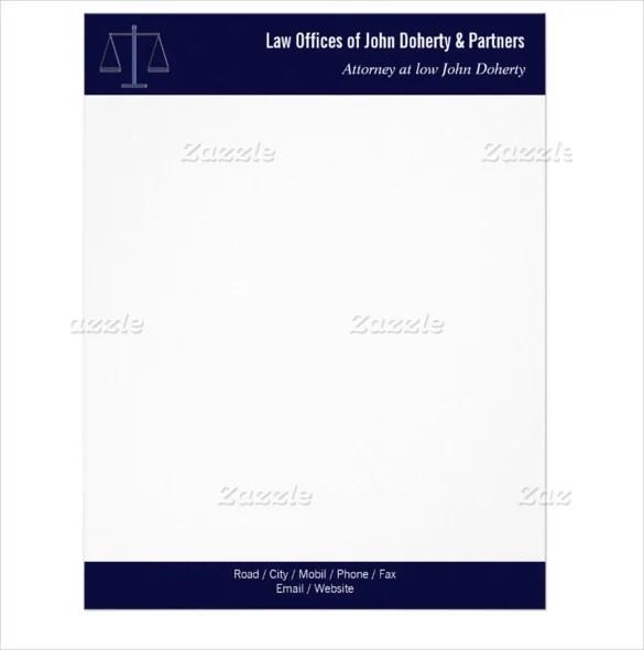 11+ Legal Letterhead Templates - Free Word, PDF Format Download