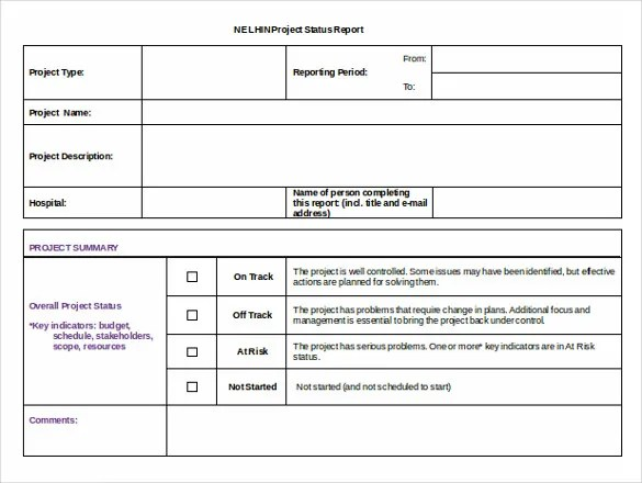 19 + Status Report Templates - Free Sample, Example, Format Download