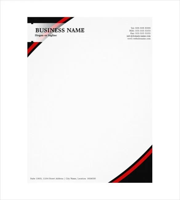 Company Letterheads What Is Company Letterhead_4 Jpg 9+ What Is - business letterhead