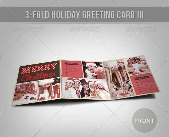 Holiday Card Template \u2013 24+ Free Printable Word, PDF, PSD, EPS