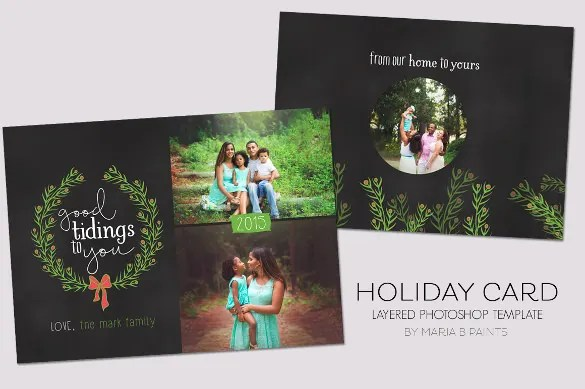 21+ Holiday Card Template - Free Sample, Example, Format Download