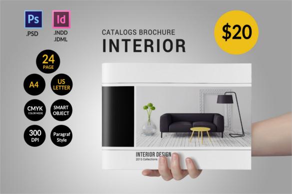 71+ HD Brochure Templates - Free PSD Format Download Free - interior design brochure template