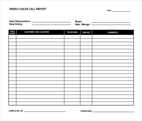 Sales Report Templates - 10+ Free Sample, Example, Format Download - sales format