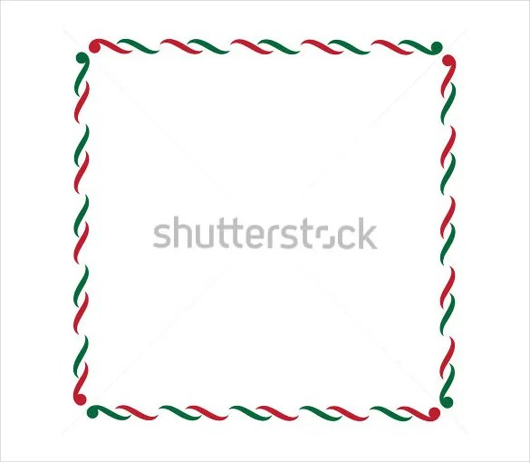 holiday border templates