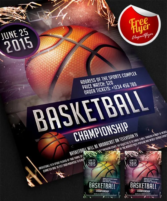 31+ Basketball Flyers - Free PSD, AI, Vector EPS Format Download - free e flyers