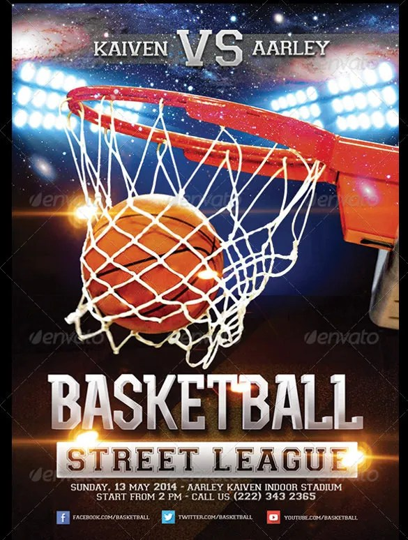 31+ Basketball Flyers - Free PSD, AI, Vector EPS Format Download