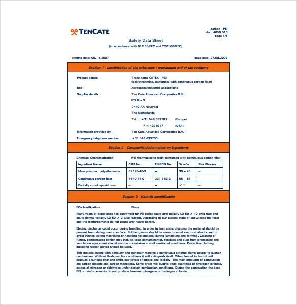 product data sheet template - Canasbergdorfbib