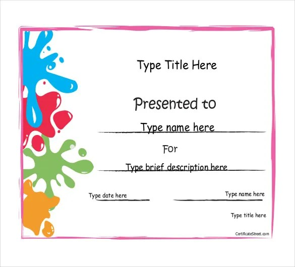 Achievement Award Template - 12+ Word, PDF Documents Download Free - award templates