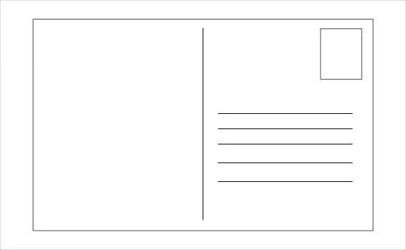 Holiday Postcard Template \u2013 18+ PDF, PSD, Format Download Free