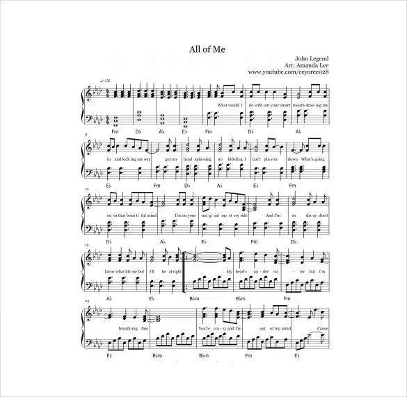 13+ Music Sheet Templates u2013 Free Sample, Example, Format Download - music staff paper template