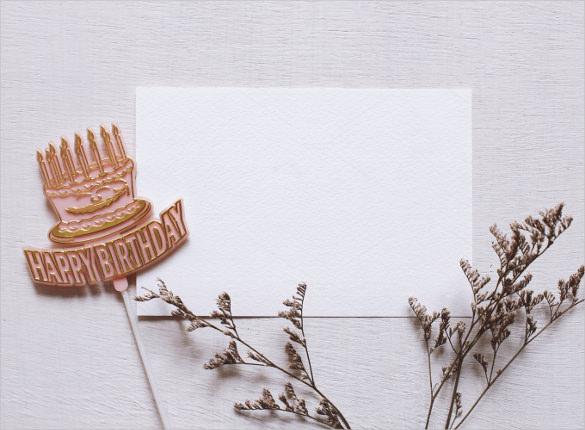 Blank Birthday Templates u2013 20+ Free PSD, EPS,In Design Format - blank card template